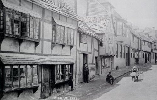 East Grinstead High St 1883