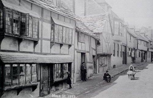East Grinstead High St 1883