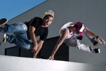 East Grinstead Sports Club Launch Parkour