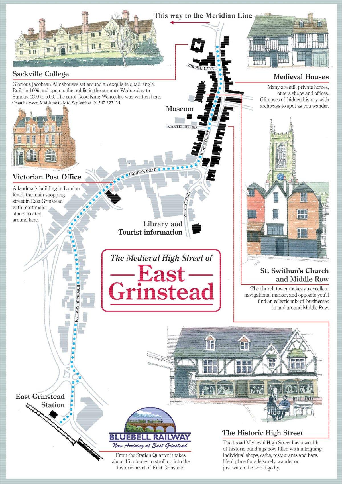 find your way around east grinstead