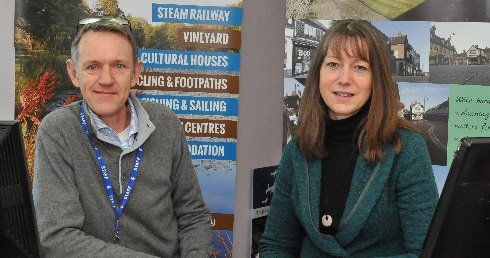 East Grinstead Tourism Staff