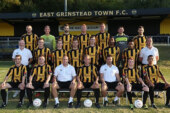 East Grinstead Town away in league cup tie