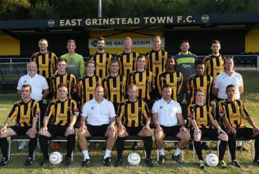 East Grinstead Town away in league cup tie