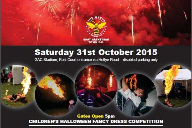 East Grinstead Firework Spectacular