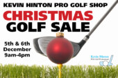 THE KEVIN HINTON PRO SHOP CHRISTMAS GOLF SALE