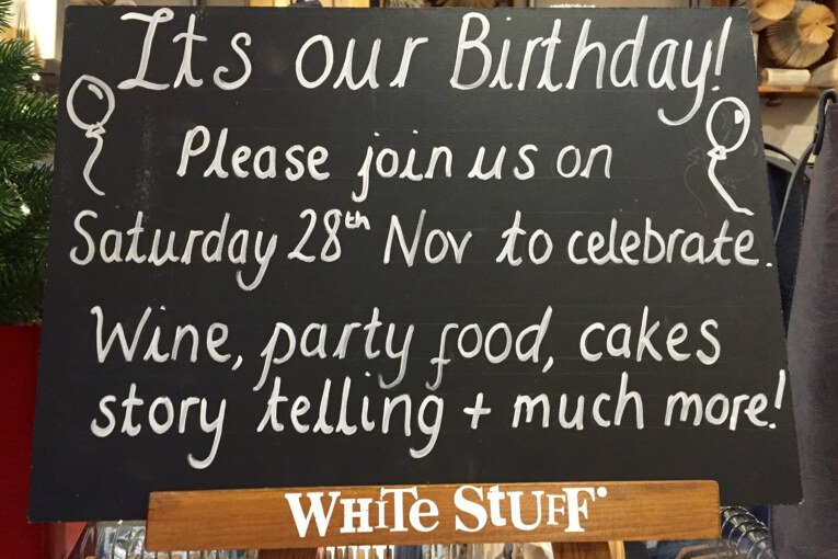 White Stuff Celebrate One Year – Join the Party