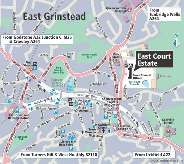 East Grinstead Car Park Charges