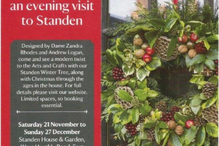 Christmas at Standen