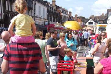 ANNUAL MAY FAIR IN THE HIGH STREET