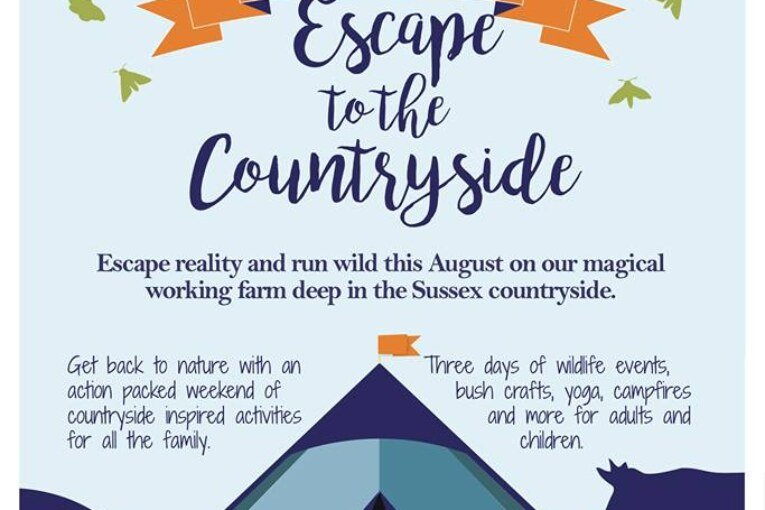 Escape to the Countryside this weekend.