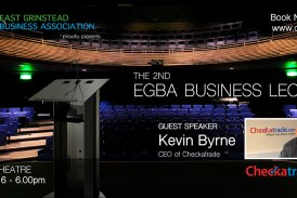 The East Grinstead Business Association presents ….Annual Business Lecture