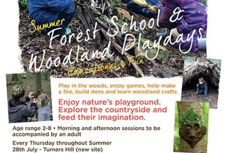 Summer Forest School & Woodland playdays