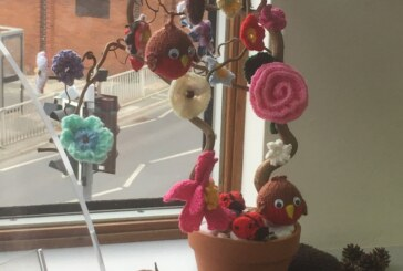 East Grinstead Library 'Flower Bombed'