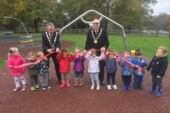 EVEN MORE FUN FOR KIDS AT REFURBISHED EAST COURT PLAYGROUND.