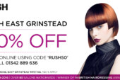 Rush Hair comes to East Grinstead