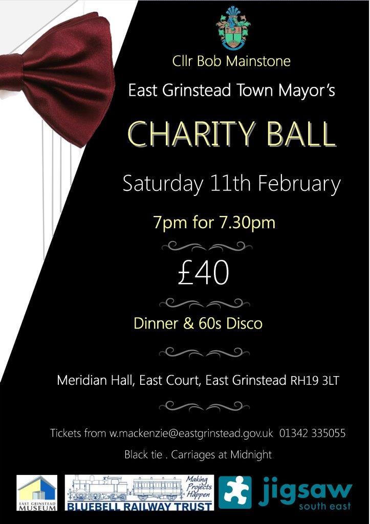 East Grinstead Town Mayor's Charity Ball