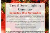 East Grinstead Christmas Lights Switch on