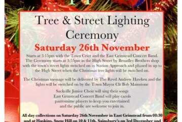 East Grinstead Christmas Lights update.