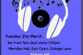 Town Mayor's Charity Music Quiz