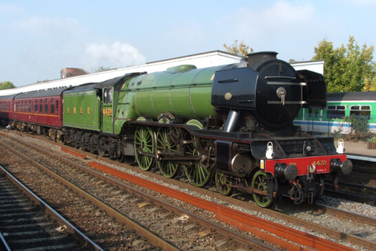 Flying Scotsman visit. Bluebell Railway's gala tickets on sale.