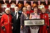 Ex Services Club welcome Chelsea Pensioners