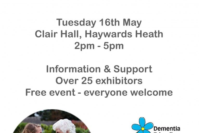 DEMENTIA AWARENESS WEEK – DEMENTIA ACTION ALLIANCE EVENT MAY 16TH