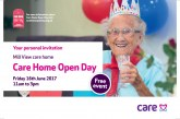 Care Home Open Day at Mill View – Friday 16th June