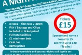 """Jigsaw South East present """"A night at the Races"""""""