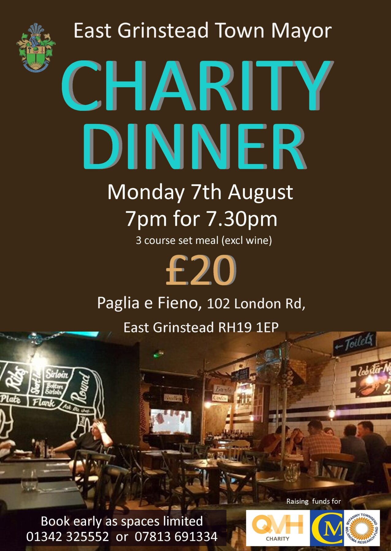 Town Mayor's Charity Meal