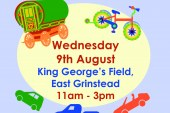 Mid Sussex District Council's Playday event in East Grinstead