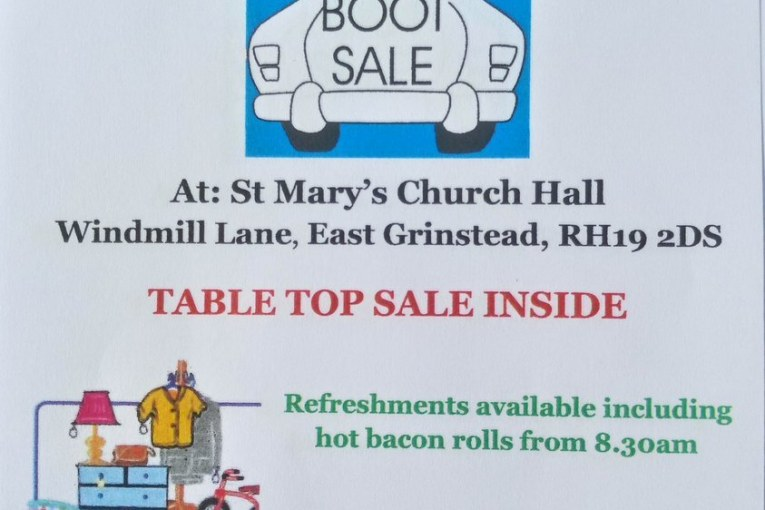 Car Boot and table top sale