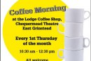 Action for Deafness coffee morning