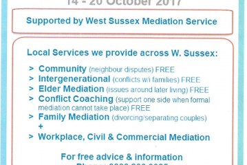 Mediation Awareness Week 14th – 20th October 2017