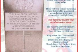 East Grinstead Remembers.