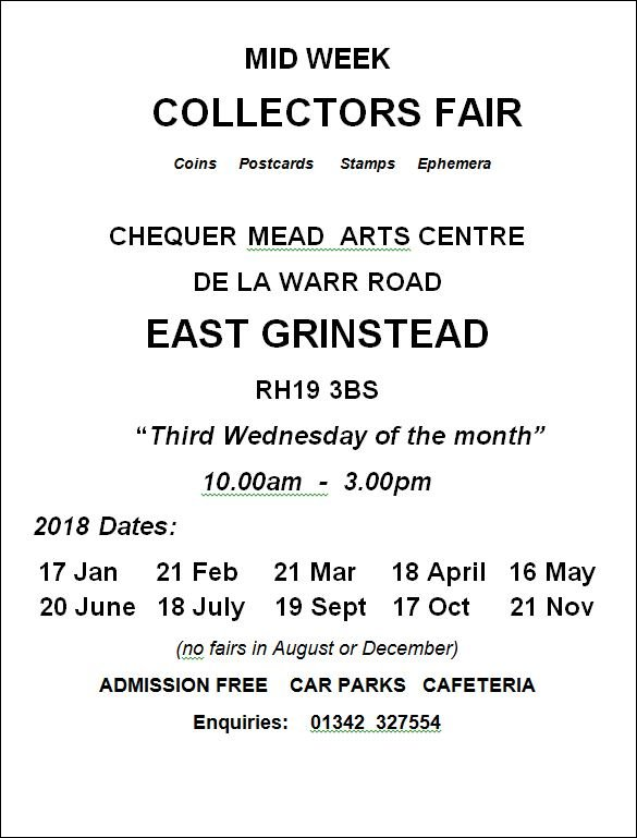 Collectors Fair at Chequer Mead