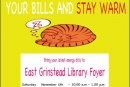 FREE Energy Advice at the Library