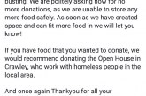 Good News East Grinstead Foodbank!