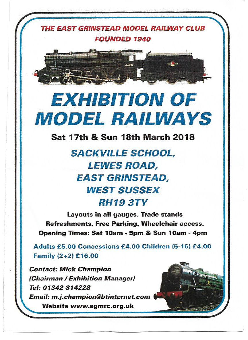 Model Railway Exhibition | Visit East Grinstead