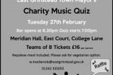East Grinstead Town Mayor's Charity Quiz