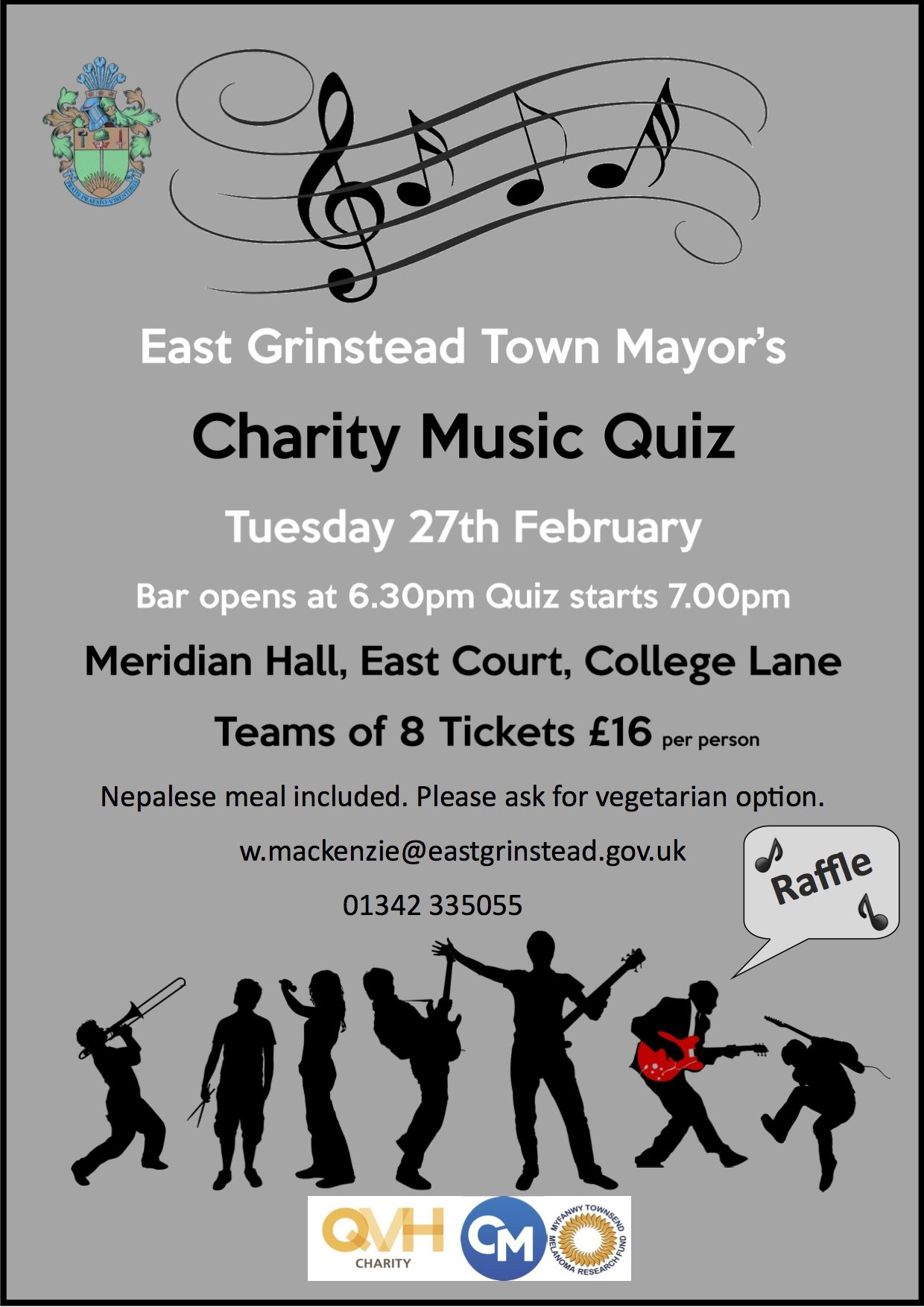 East Grinstead Town Mayor's Charity Quiz