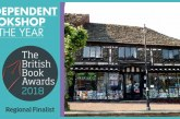 British Book Awards 2018 – East Grinstead Bookshop shortlisted – Vote Now!