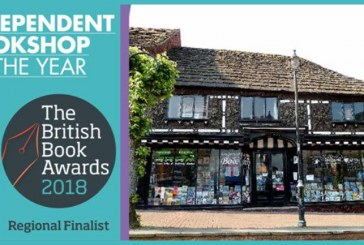 British Book Awards 2018 – East Grinstead Bookshop shortlisted – Vote Now!