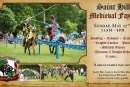 All the fun of of the Medieval Fayre!