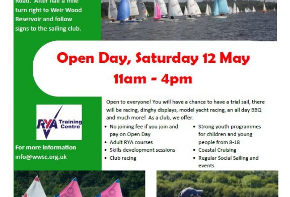 Weir Wood Sailing Club Open Day