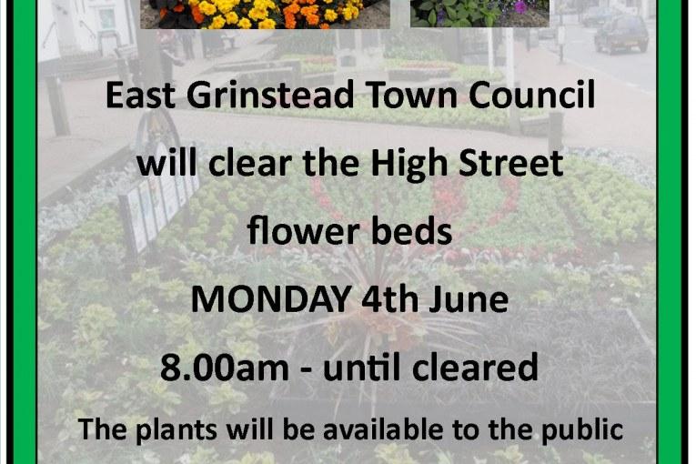 Town Council News: High Street Flower Bed Clearance