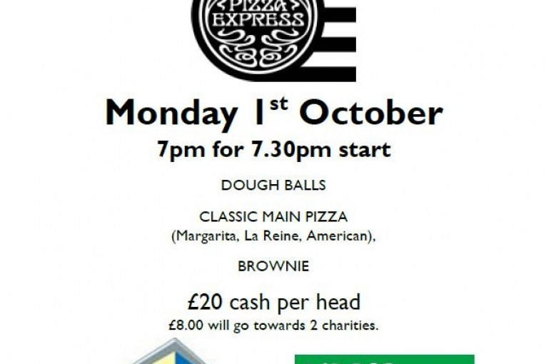 Charity Feast in October.