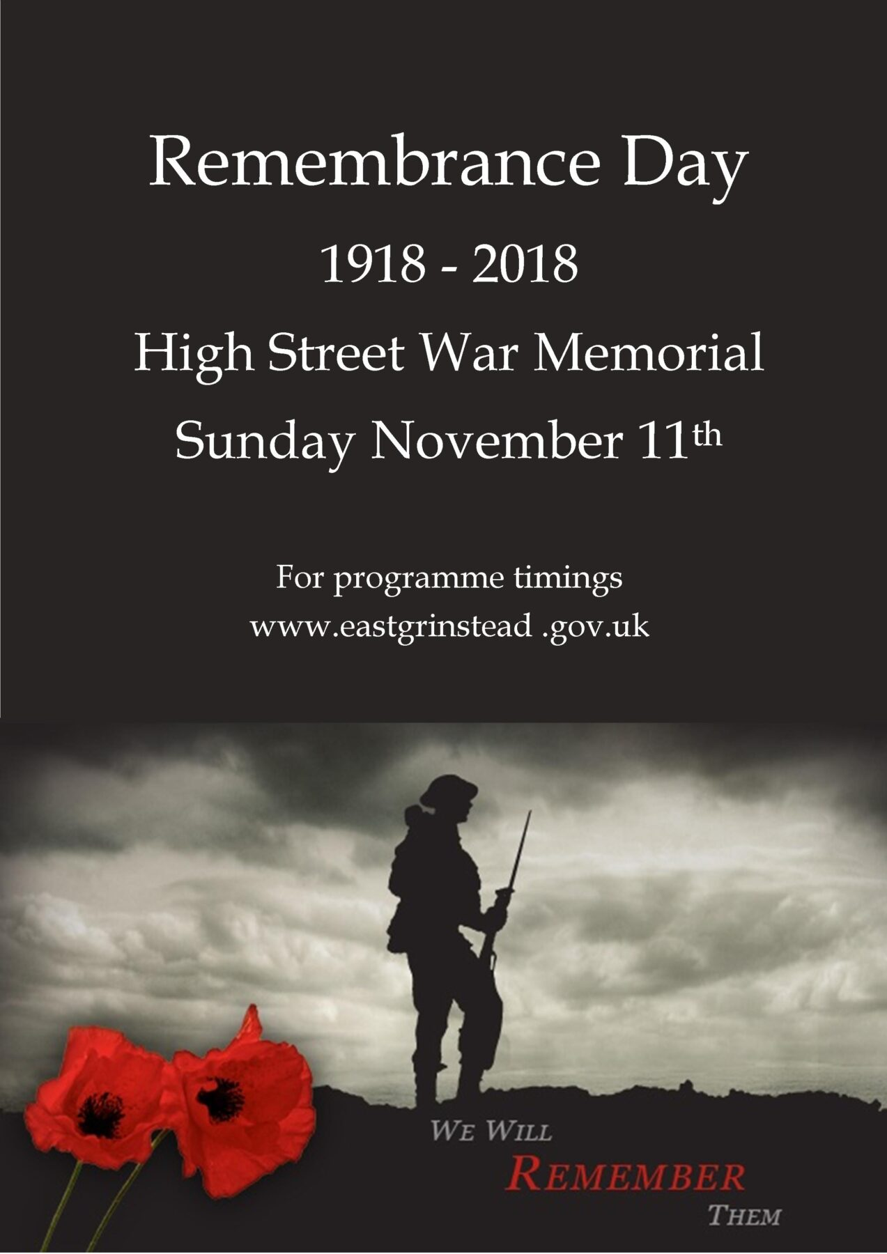 Remembrance Day | Visit East Grinstead