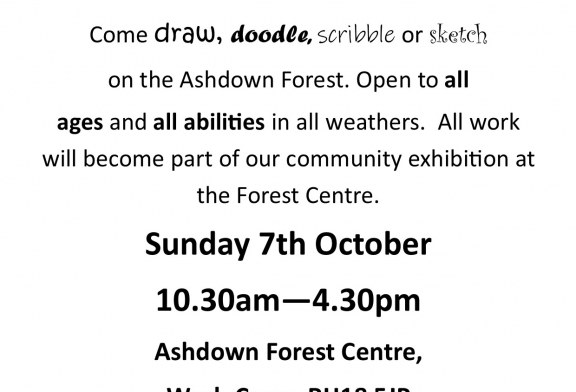 The Big Draw on the Forest.