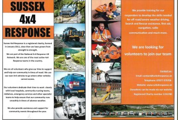 Sussex 4×4 Response – Looking 4 Volunteers