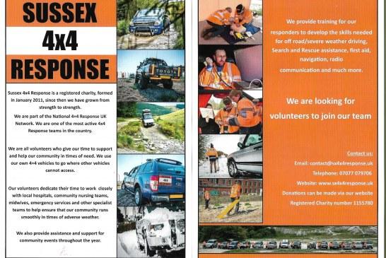 Sussex 4×4 Response – Looking 4 Volunteers